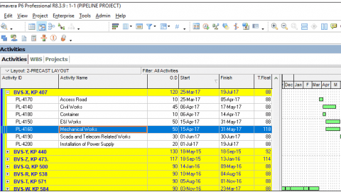 Assigning Expenses in Primavera P6 cost management