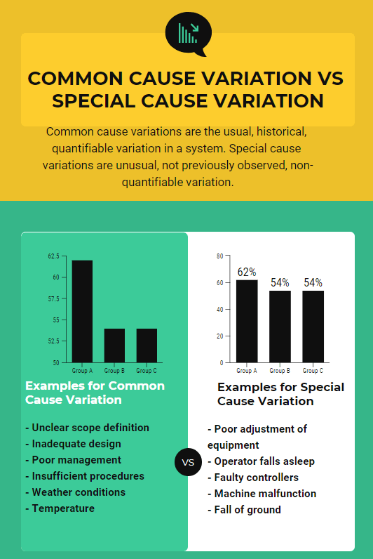 Common Cause Variation vs Special Cause Variation