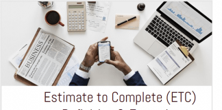 Estimate to Complete (ETC) Definition & Examples infographic
