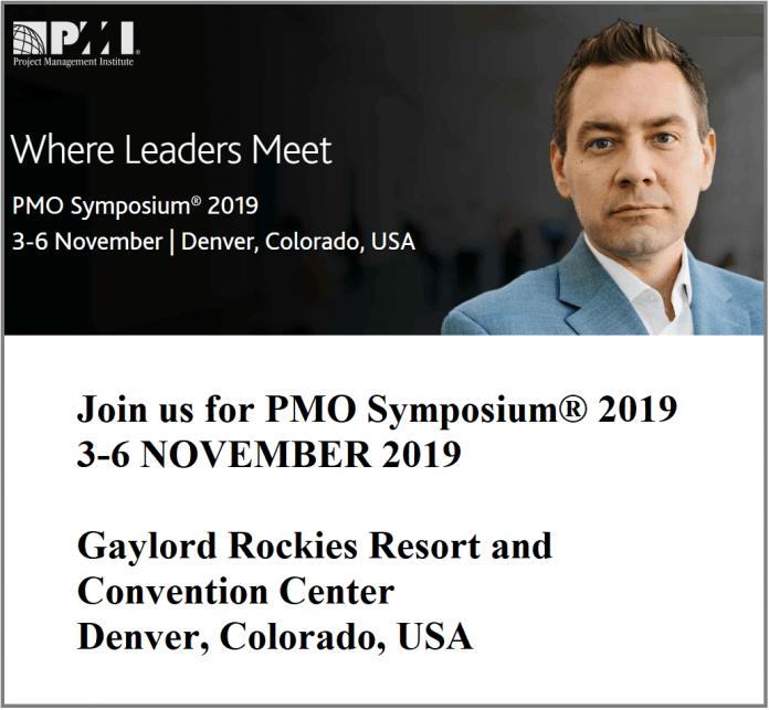 PMO Symposium 2019