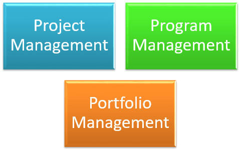 Project Management Program Management Portfolio Management