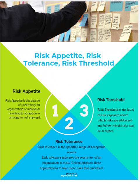Risk Appetite vs Risk Tolerance vs Risk Threshold