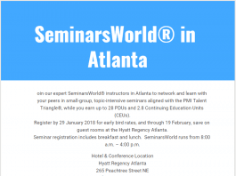 SeminarsWorld in Atlanta