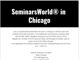 SeminarsWorld in Chicago
