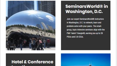 SeminarsWorld in Washington DCSeminarsWorld in Washington DC