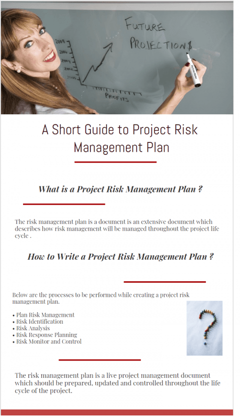 What is a project risk management plan and How to Write a Project Risk Management Plan