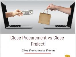 close procurement vs close project