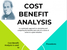 simple cost benefit analysis example and calculation steps, net present value