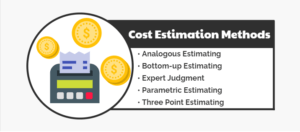 cost estimantion tools and methods in project management
