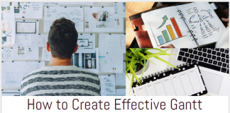 How to Create Effective Gantt Charts infographic