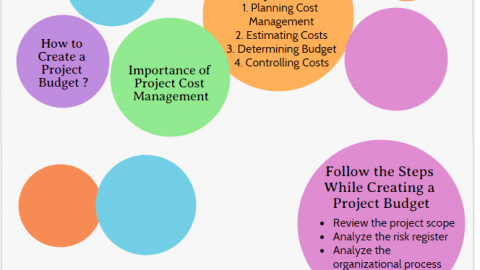 importance of Project Cost Management Best Practices, project cost management processes infographic