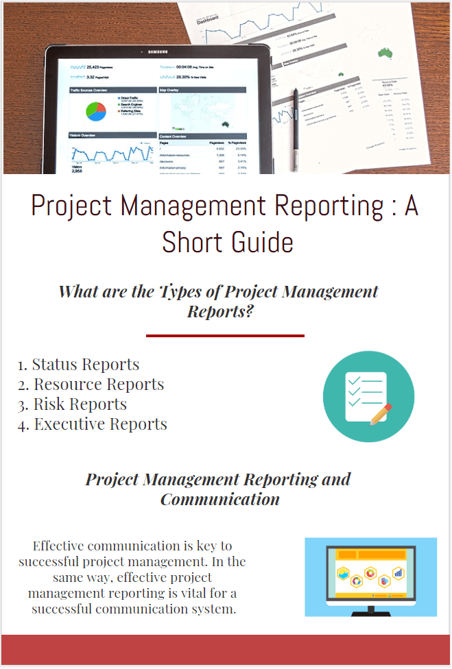 Project Management Reporting A Short Guide