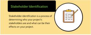 stakeholder identification