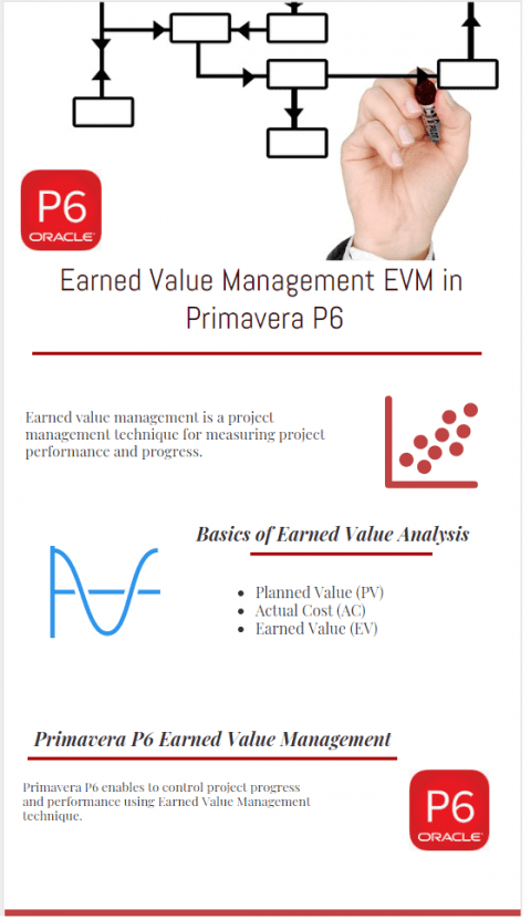 Earned Value Management System Formulas in Primavera P6