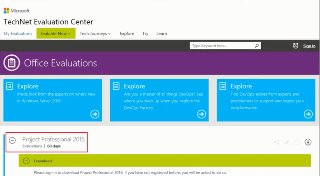 Office 365, project online licenses.