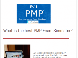 What is the best PMP Exam Simulator - PMP Exam Simulator Testuudan