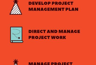 Project Integration Management Processes, process groups, best practices, steps