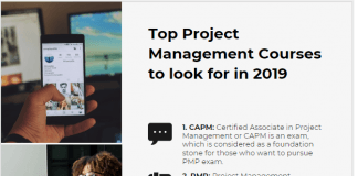 Project Management Courses to look for in 2019