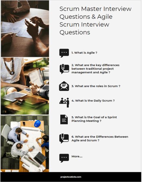 Scrum Master Interview Questions & Agile Scrum Interview Questions and answers