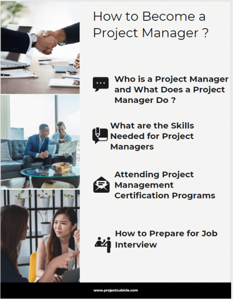 How to Become a Project Manager career path to becoming a project manager