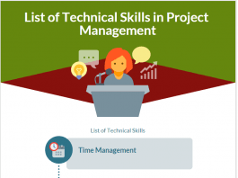 List of Technical Skills in Project Management
