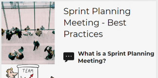 Sprint Planning Meeting - Best Practices