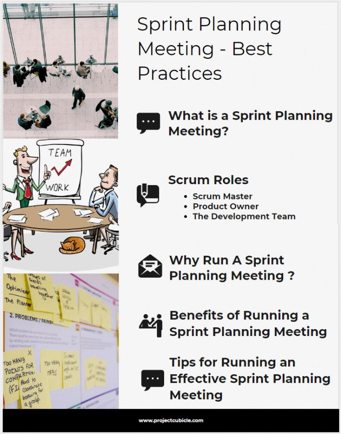 How to run a Sprint Planning Meeting - Best Practices benefits of agile sprint planning meeting