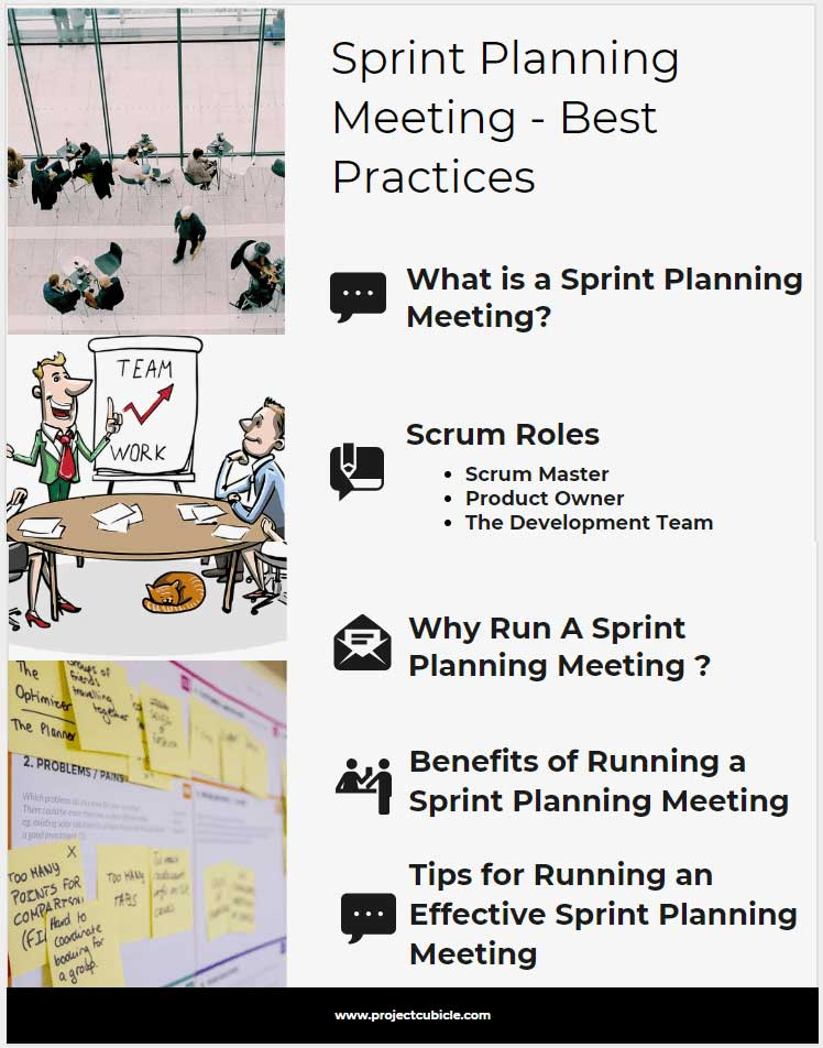 Sprint Planning Meeting - Best Practices - projectcubicle