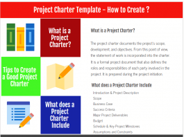Project Charter Template - How to Create