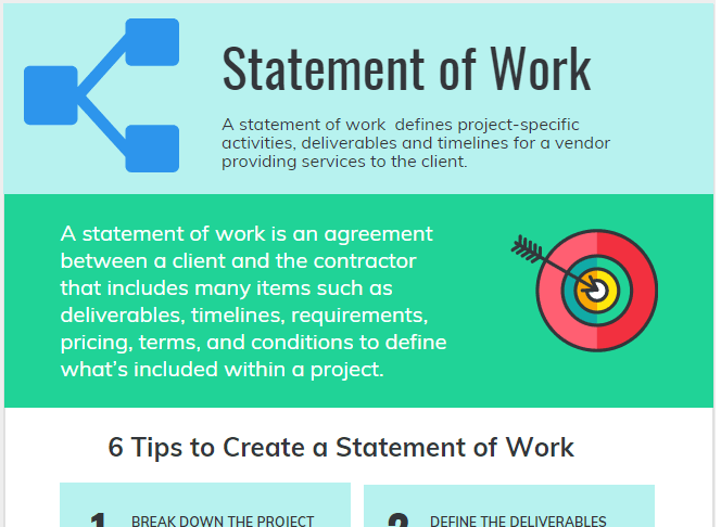 Statement of Work Template and Example
