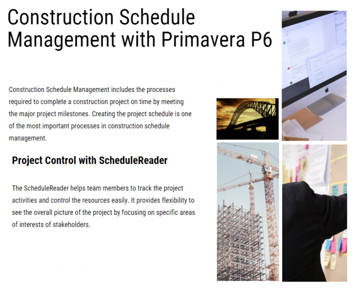 Construction Schedule Management & Importance of Scheduling in Construction