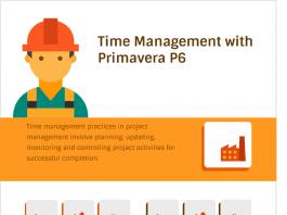 Time Management with Primavera P6