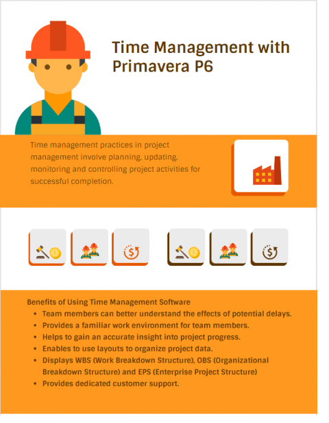 Time Management with Primavera P6 Software, importance of time management