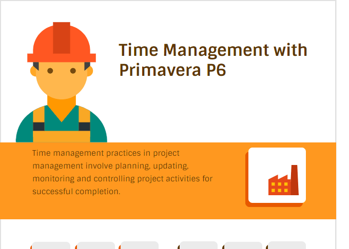 Time Management with Primavera P6