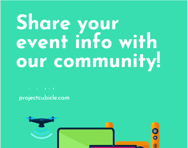 share your events