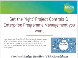 Cost Control , Project Control Get the Right Management infographic
