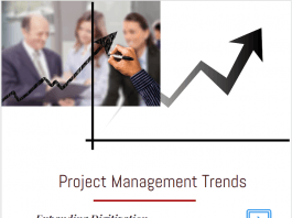 Project Management Trends & Future of Project Management infographic