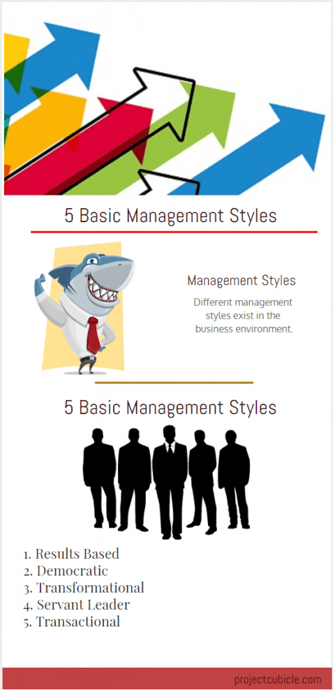 5 basic management style