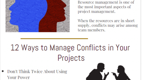 How to Manage and Resolve Project Conflicts, conflict management and resolution strategies