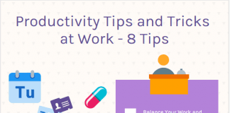 productivity tips and tricks at work