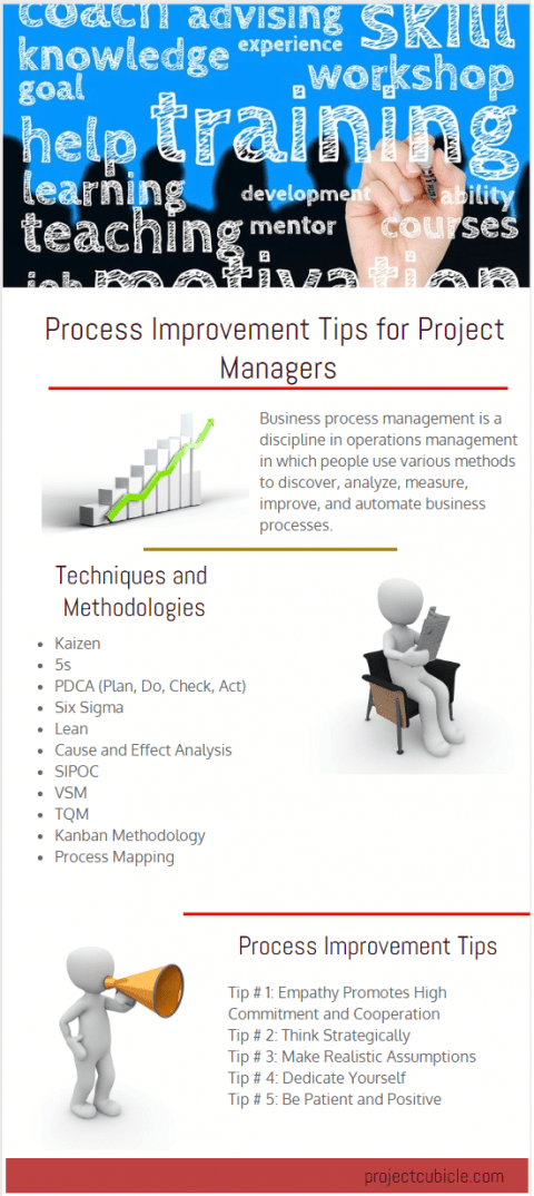 business process improvement tips for project managers