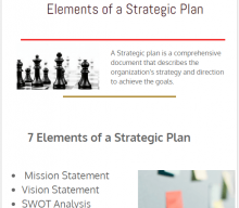Strategic Plan | 7 Elements of a Strategic Plan