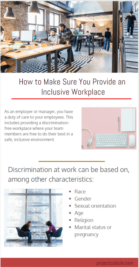 How to Make Sure You Provide an Inclusive Workplace