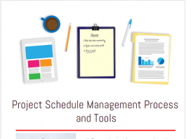 Project Schedule Management Process and Tools