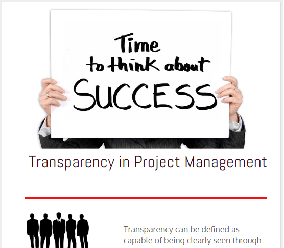 importance of Transparency in Project Management, main benefits