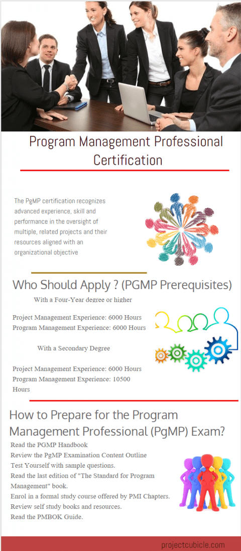 Program Management Professional Certification PGMP Credential