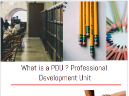 pdus What is a PDU Professional Development Unit