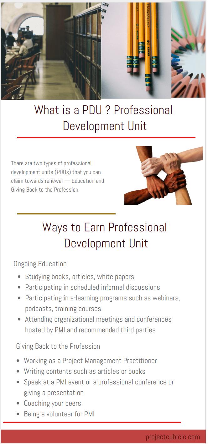 pdus What is a PDU Professional Development Unit