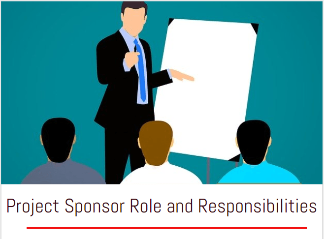 project sponsor roles responsibilities definition PMP