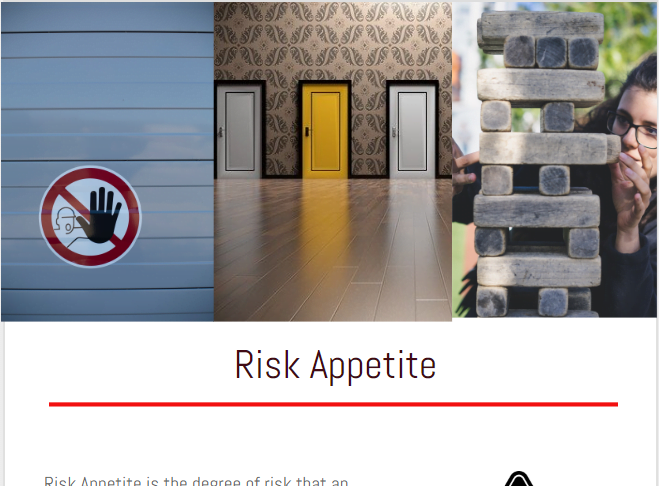 what is risk appetite